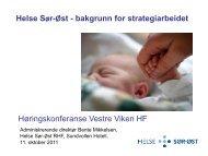 Bente Mikkelsen - presentasjon - Vestre Viken HF