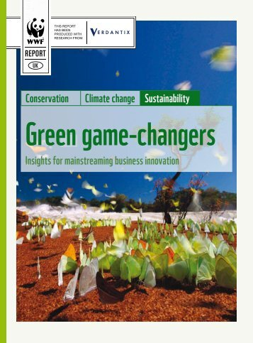 Green Game-Changers report - WWF UK