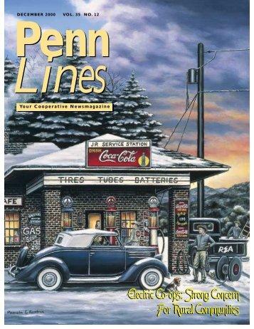 December 2000 - PREA - The Pennsylvania Rural Electric Association