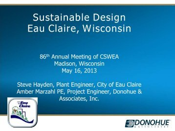 Sustainable Design Eau Claire, Wisconsin