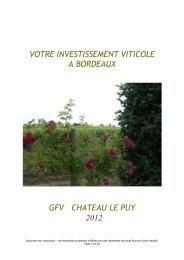GFV Le PUY 2012 - Haussmann Patrimoine