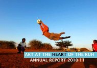 art at the heart of the ruh annual report 2010-11 - Royal United ...