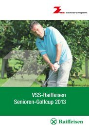 Senioren golf_2013.indd - Golf Club Petersberg
