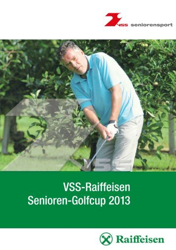 Senioren golf_2013.indd - Golf Club Petersberg