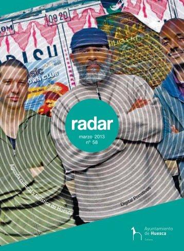 radar marzo 2013 - Ayuntamiento de Huesca