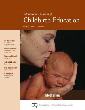 International Journal of Childbirth Education