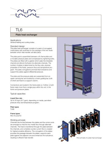 TL6 - Plate heat exchanger - Alfa Laval