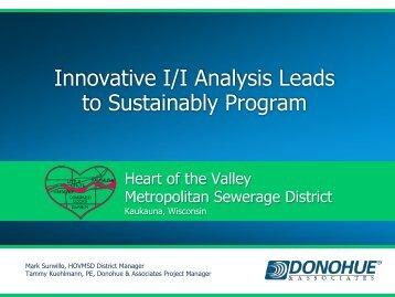 Innovative I/I Analysis Leads to Sustainably Program