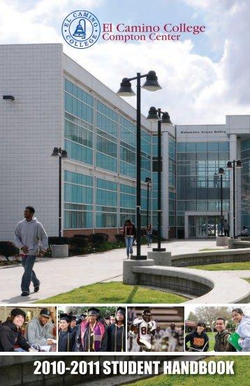 2010-2011 student handbook - El Camino College Compton Center