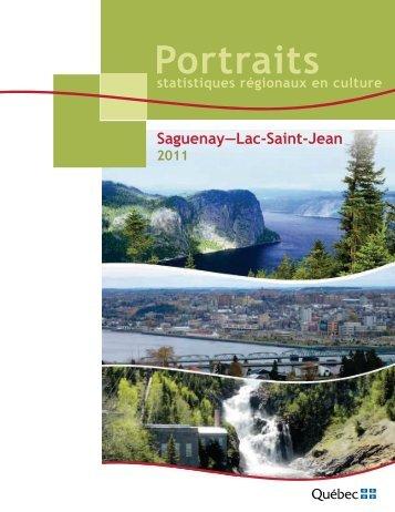 Portrait Saguenay–Lac-Saint-Jean - Ministère de la Culture et des ...