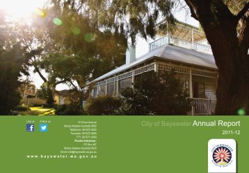 City of Bayswater Annual Report