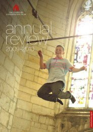 Annual Review - The Churches Conservation Trust