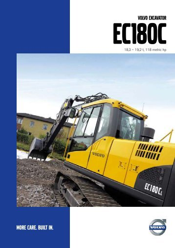 VOLVO EXCAVATOR - Volvo Construction Equipment