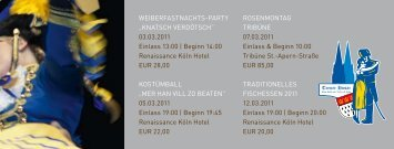 "Weiberfastnachts-Party ""Knatsch Verdötsch"" 03.03.2011 einlass 13 ..."