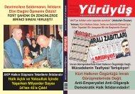 AKP HALKIN DÜŞMANI TEKELLERİN İKTİDARIDIR - Yürüyüş