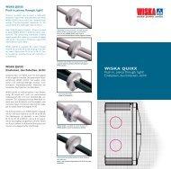 WISKA QUIXX - WISKA - Cable Glands
