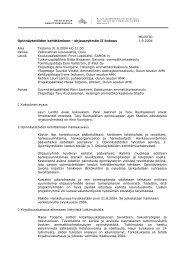 MUISTIO Opinnäytetöiden kehittäminen - ohjausryhmän II ... - Oamk