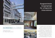 Screen Building - Gemeinde Urdorf