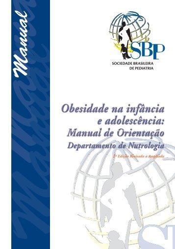Obesidade na infância e adolescência - Manual de Orientação