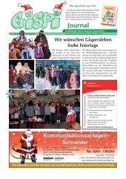 Wir wünschen Gispersleben frohe Feiertage - Gispi.de