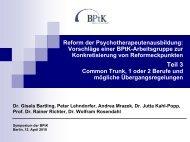 """Common Trunk""-Ausbildung - PTK Bayern"