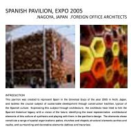 SPANISH PAVILION, EXPO 2005 .NAGOYA, JAPAN .FOREIGN ...