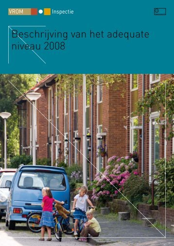 Beschrijving van het adequate niveau 2008 - Vereniging BWT ...
