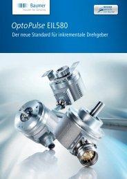 OptoPulse EIL580 - Der neue Standard - Baumer