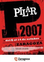 Fiestas del Pilar 2007 - Ayuntamiento de Zaragoza