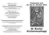 auf dieser Seite - Evangelische Kirche Berlin-Buch