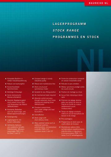 lagerprogramm stock range programmes en stock - SES ...