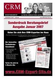 CRM schafft Mehr-Wert! - Marketing Performance