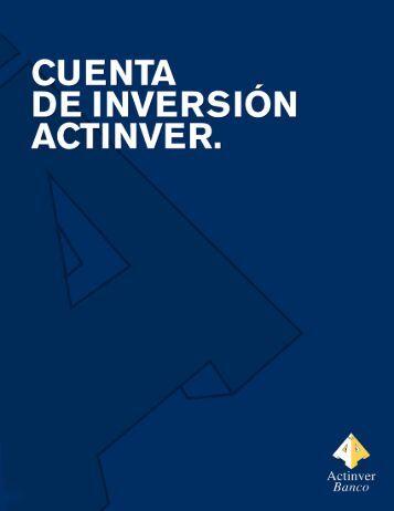 Nuevo Contrato Marco - Actinver