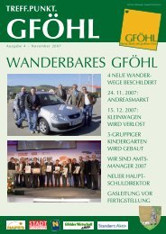 WANDERBARES GFÖHL - Stadtgemeinde Gföhl