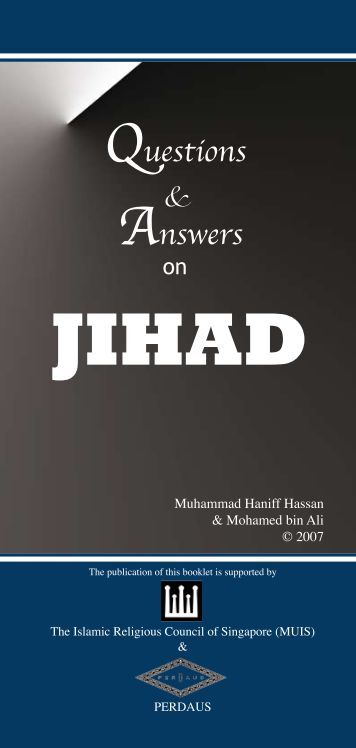 Questions and answers on jihad