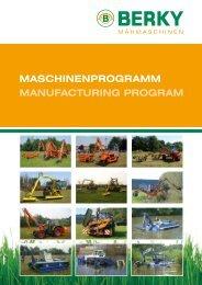 MaschinenprograMM Manufacturing prograM - Special Maskiner