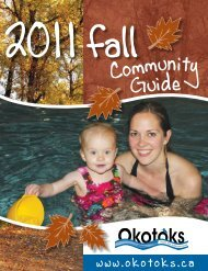 2011 Fall Community Guide - Town of Okotoks