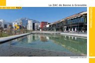 La ZAC de Bonne à Grenoble - Ministère du Développement durable