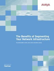 The Benefits of Segmenting Your Network Infrastructure
