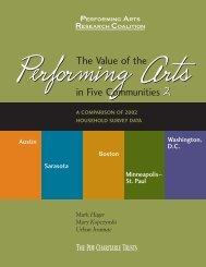 The Value of Performing Arts in Five Communities 2 ... - Urban Institute