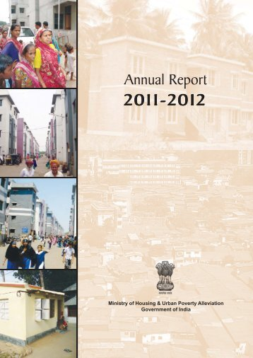 Annual Report 2011-12.pdf - Ministry of Housing & Urban Poverty ...