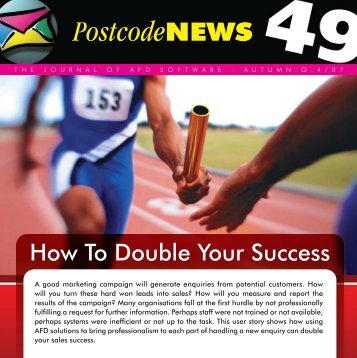 How To Double Your Success - AFD Software