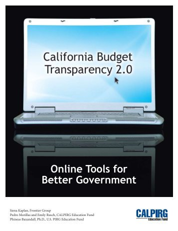 Download CA-California-Budget-Transparency-2 ... - Frontier Group