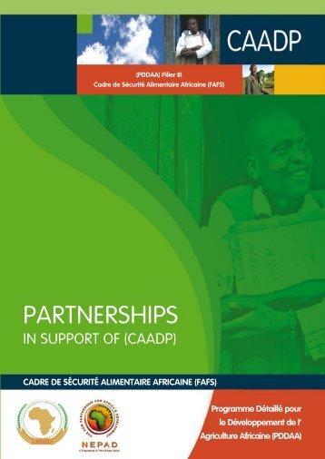 Cadre de SéCurité alimentaire afriCaine (fafS) - CAADP
