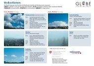 Wolkenformen - Globe