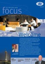 European Focus, Spring 2008 - JHI