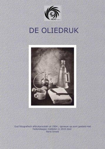 De Oliedruk - René Smets (pdf) - Picto Benelux