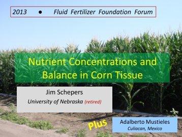 J. Schepers - Fluid Fertilizer Foundation