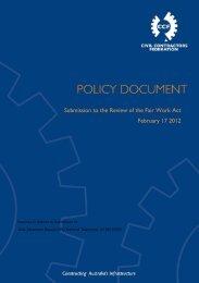 Feb 2012 - Civil Contractors Federation