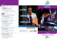 1 | 2011 veranstaltungen - Musikschule Dülmen und Haltern am See
